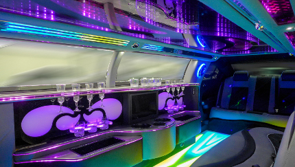 Stretchlimousine Bar